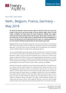 2018-06-08 Natural Gas - Europe - Neth., Belgium, France, Germany - May 2018 cover