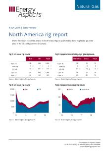 2018-06-08 Natural Gas - North America - North America rig report cover
