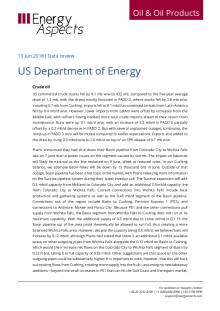 2018-06 Oil - Data review - US Department of Energy cover