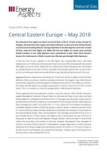 Central Eastern Europe – May 2018 cover image