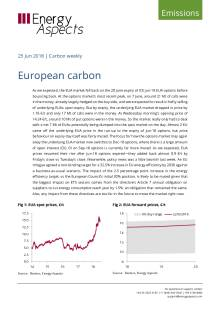 2018-06-25 Emissions - Carbon weekly - European carbon cover
