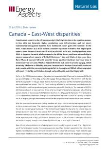 Canada – East-West disparities cover image