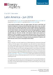 Latin America – Jun 2018 cover image