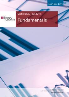 2018-07-31 Natural Gas - Global LNG - Fundamentals cover