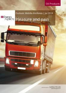 2018-07 Oil - Middle distillates Outlook - Pleasure and pain cover