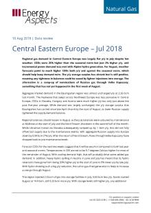Central Eastern Europe – Jul 2018 cover image