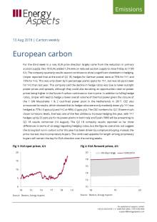 2018-08-13 Emissions - Carbon weekly - European carbon cover
