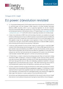 2018-08-14 Natural Gas - Europe - EU power: (r)evolution revisited cover
