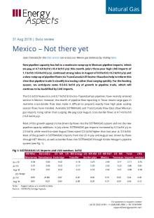 2018-08-31 Natural Gas - North America - Mexico – Not there yet cover