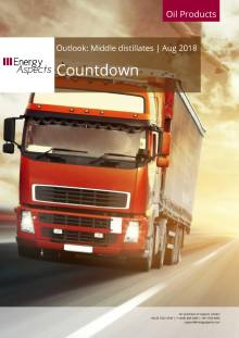 2018-08 Oil - Middle distillates Outlook - Countdown cover