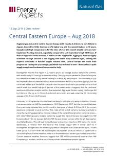 2018-09-13 Natural Gas - Central Eastern Europe – Aug 2018 cover
