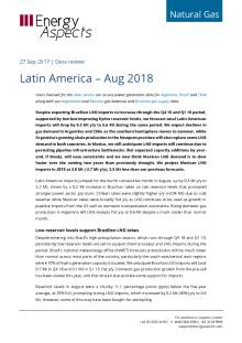 Latin America – Aug 2018 cover image