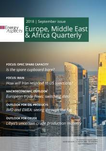 2018-09 Oil - Europe, Middle East & Africa Quarterly cover
