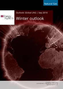 2018-09-28 Natural Gas - Global LNG - Winter outlook cover