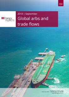 2018-09 Global arbs and trade flows - Outlook - Global arbs and trade flows cover
