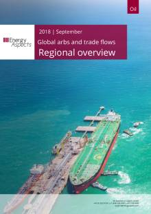 2018-09 Global arbs and trade flows - Outlook - Regional overview cover
