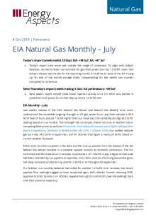 2018-10-04 Natural Gas - North America - EIA Natural Gas Monthly – July cover