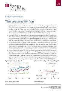 2018-10-08 Oil - Perspectives - The seasonality fear cover