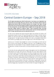 Central Eastern Europe – Sep 2018 cover image