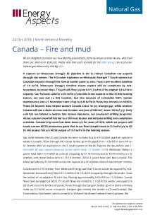 Canada – Fire and mud cover image