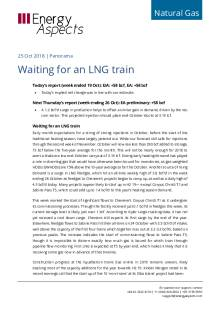 Waiting for an LNG train cover image