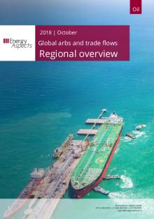 2018-10 Global arbs and trade flows - Outlook - Regional overview cover