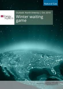 2018-10-31 Natural Gas - North America - Winter waiting game cover