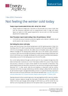 Not feeling the winter cold today cover image