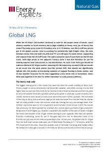 2018-11-16 Natural Gas - Global LNG cover