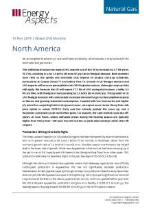 2018-11-16 Natural Gas - Global LNG - North America cover