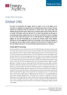 2018-11-23 Natural Gas - Global LNG cover