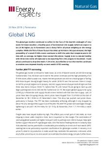2018-11-30 Natural Gas - Global LNG cover