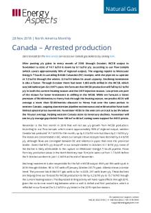 Canada – Arrested production cover image