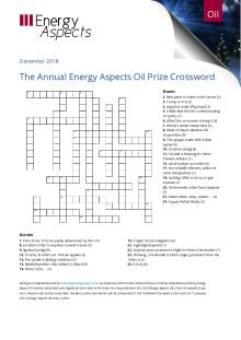 2018-12-17 Annual Oil Prize Crossword cover