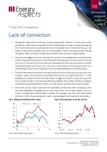 2018-12-17 Oil - Perspectives - Lack of conviction cover