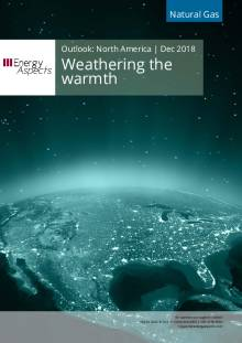 Weathering the warmth cover image