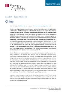 2019-01-03 Natural Gas - Global LNG - China cover