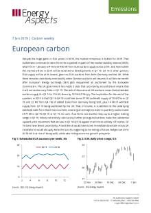 2019-01-07 Emissions - Carbon weekly - European carbon cover