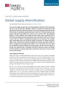 2019-01-09 Natural Gas - North America - Global supply diversification cover