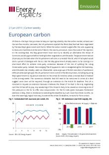 2019-01-21 Emissions - Carbon weekly - European carbon cover