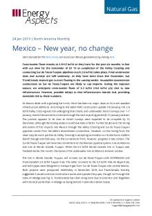 Mexico – New year, no change cover image