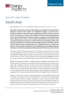 2019-01-24 Natural Gas - Global LNG - South Asia cover