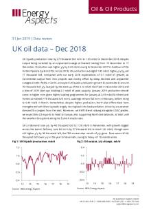 2019-01 Oil - Data review - UK oil data – Dec 2018 cover