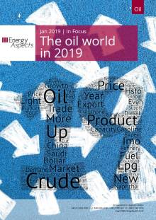2019-01 Oil - In Focus - The oil world in 2019 cover