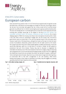 2019-02-04 Emissions - Carbon weekly - European carbon cover