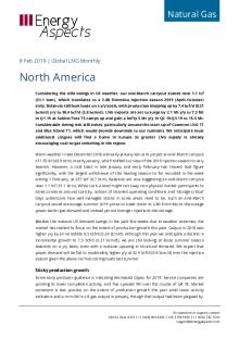 2019-02-08 Natural Gas - Global LNG - North America cover
