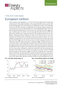 2019-02-11 Emissions - Carbon weekly - European carbon cover