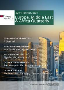 2019-02 Oil - Europe, Middle East & Africa Quarterly cover