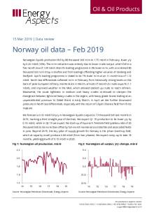 Norway oil data – Feb 2019 cover image