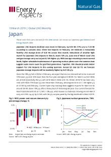 2019-03-19 Natural Gas - Global LNG - Japan cover